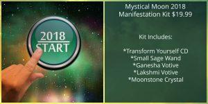 Mystical Moon 2018 Manifestation Kit