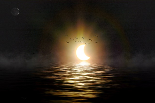 July's New Moon, Solar Eclipse Brings Us Opportunity For Shadow Work and Manifestation of Goals